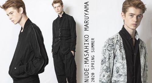 nude:masahiko maruyama 2020SS Collection