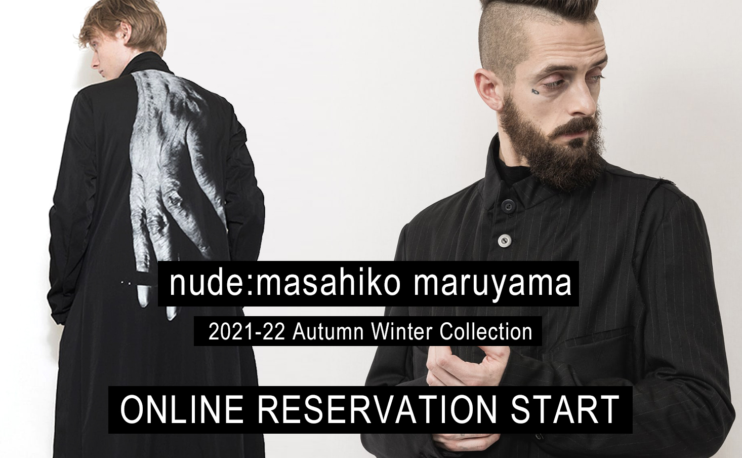 nude: masahiko maruyama 21-22 AW collection online Reservations