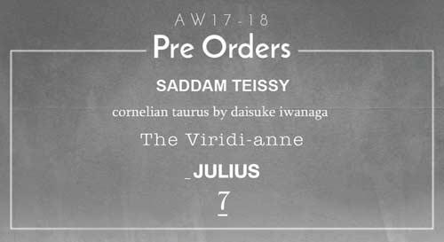 Pre Order(予約商品)