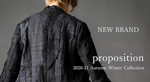 Proposition 2020-21AW collection