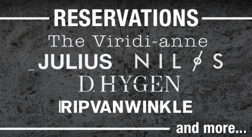 19SS Reservation Item