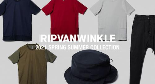 RIPVANWINKLE(リップヴァンウインクル) 2021SS(春夏)コレクション