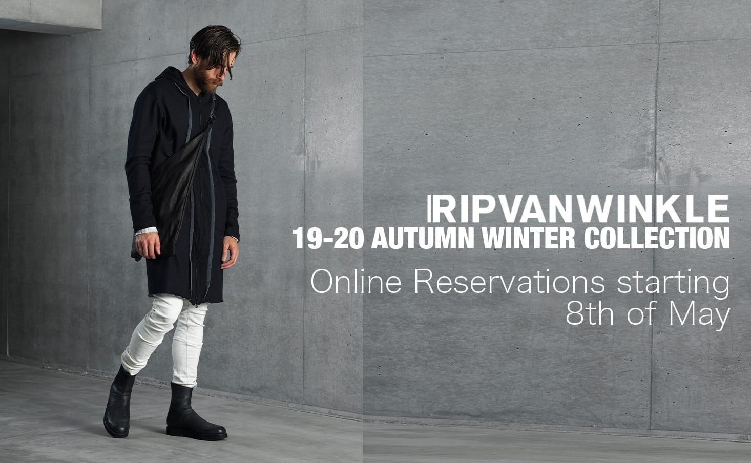 RIPVANWINKLE 2019-20AW Online reserve 1-001