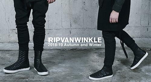 RIPVANWINKLE 18-19AW collection