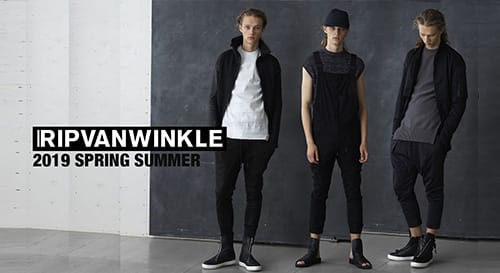 RIPVANWINKLE 19SS collection