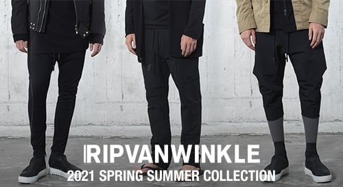 RIPVANWINKLE 2021SS collection