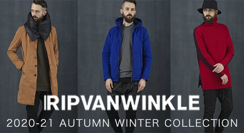RIPVANWINKLE 2020-21AW collection