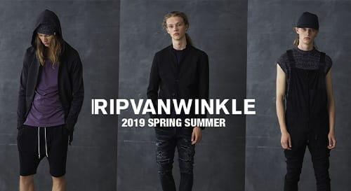 RIPVANWINKLE(リップヴァンウィンクル)2019SS(春夏) コレクション