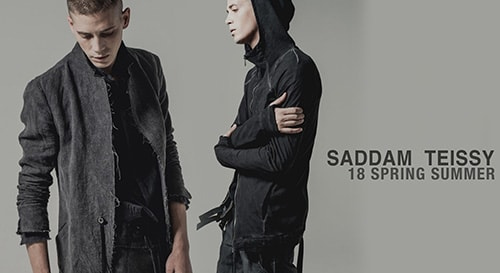 saddam teissy 2018SS collection