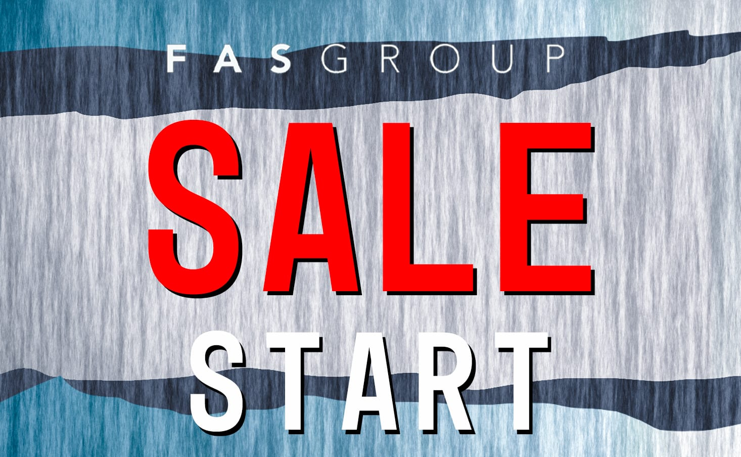 The sale will start from now on!