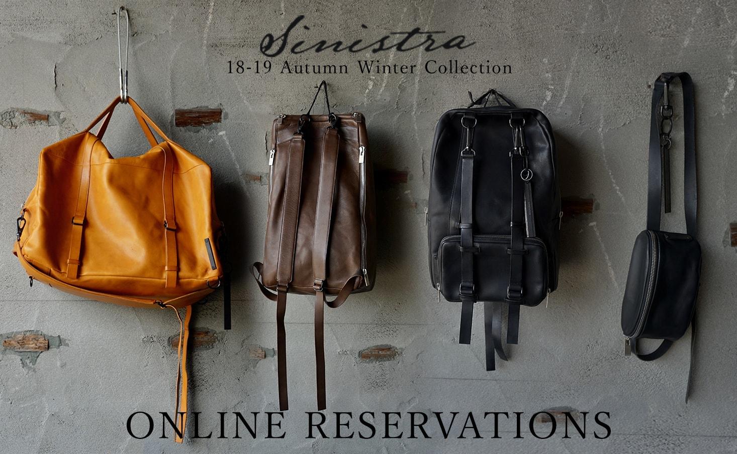 sinistra 19SS Reservation