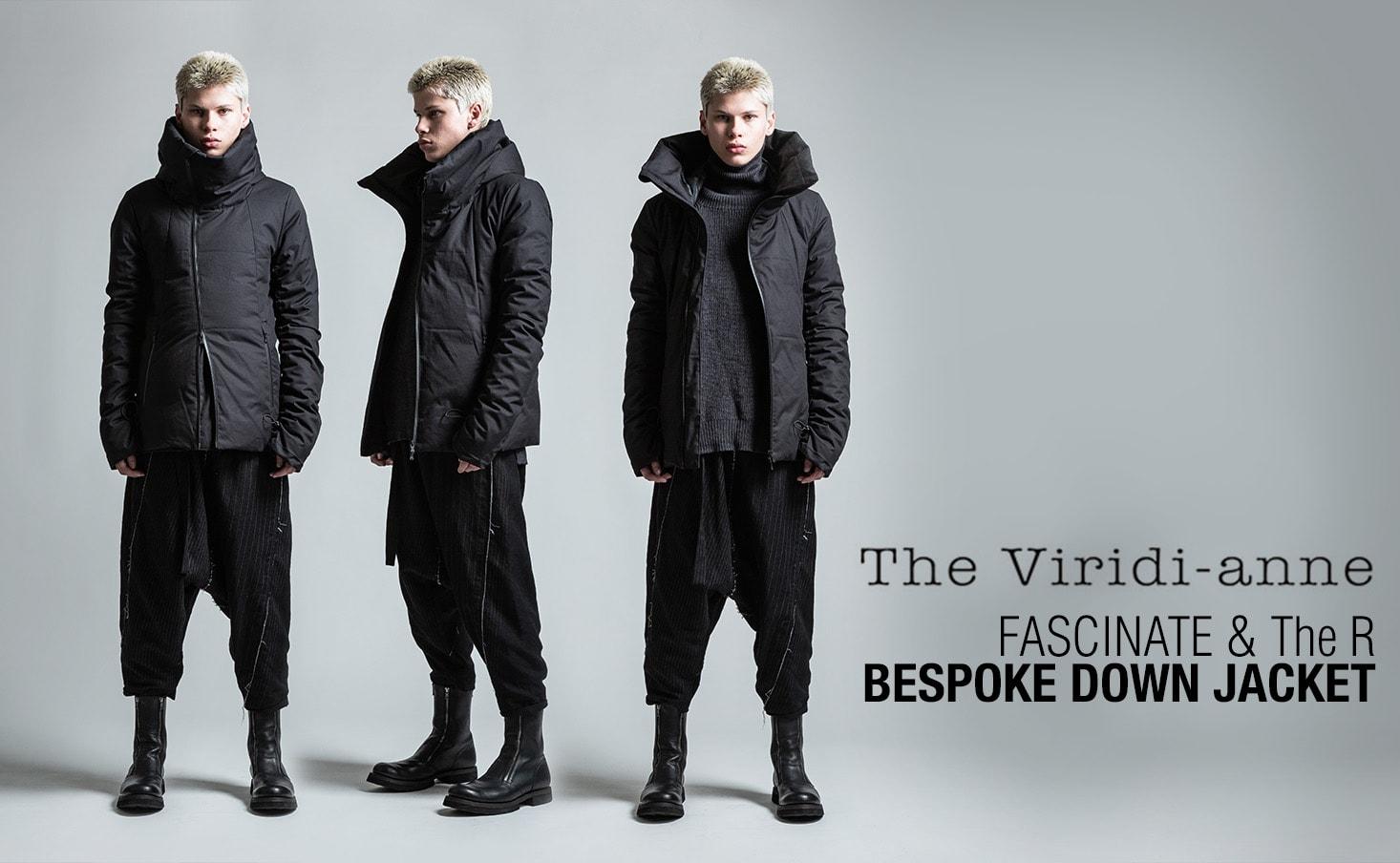 The Viridi-anne 18AW bespoke down jacket
