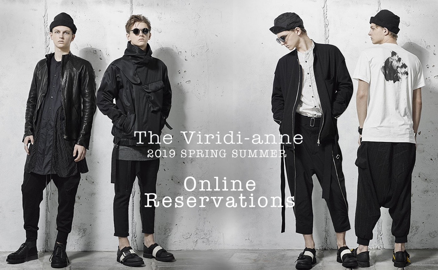 The Viridi-anne 19ss collection reserve
