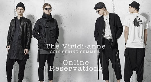 The Viridi-anne 19SS Collection Reservation