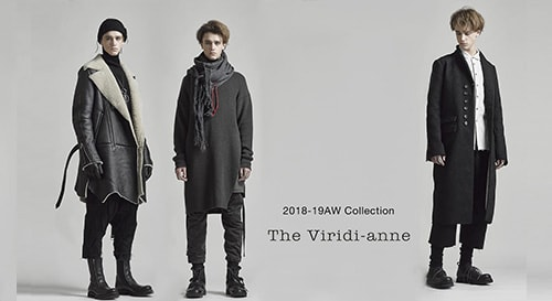The Viridi-anne 18-19AW collection