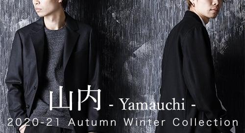 yamauchi 2020-21AW collection