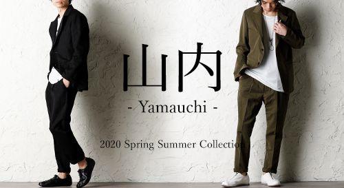 YAMAUCHI (山内) 2020SS Collection