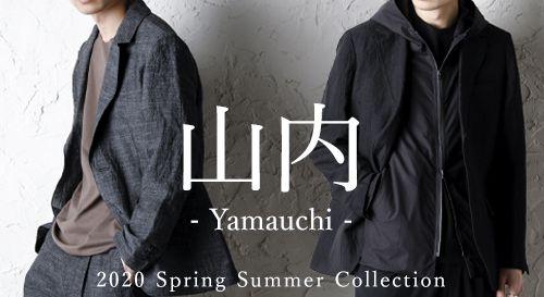 yamauchi 2020SS Collection