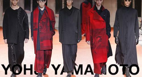 Yohji Yamamoto 18-19 aw collection