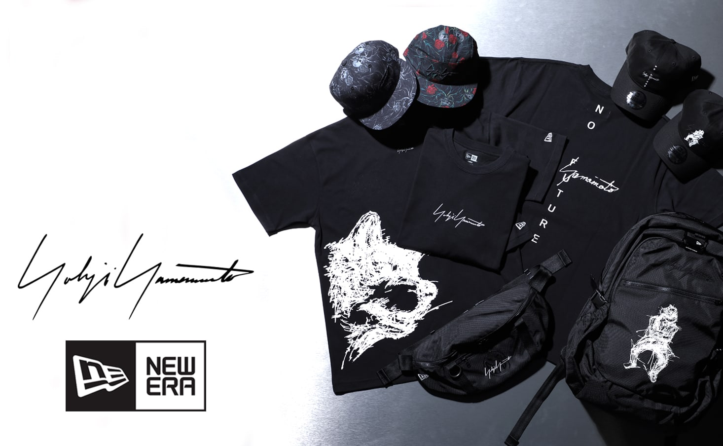 New Era × Yohji Yamamoto 21SS Release Notice
