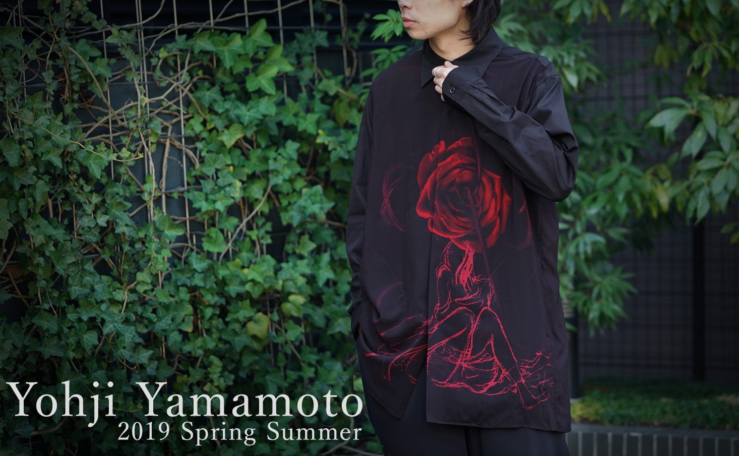 Yohji Yamamoto 2019SS collection