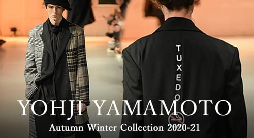 Yohji Yamamoto 2020-21AW collection