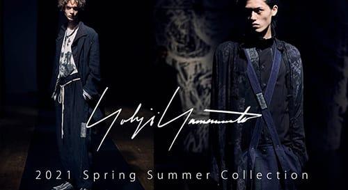 Yohji Yamamoto(ヨウジヤマモト) 2021SS(春夏)コレクション