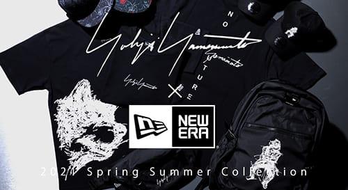 New Era × Yohji Yamamoto 2021SS collection
