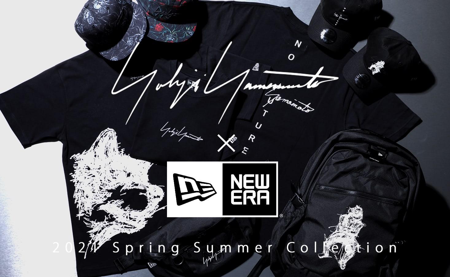 New Era(ニューエラ) × Yohji Yamamoto(ヨウジヤマモト) 2021SS(春夏)コレクション