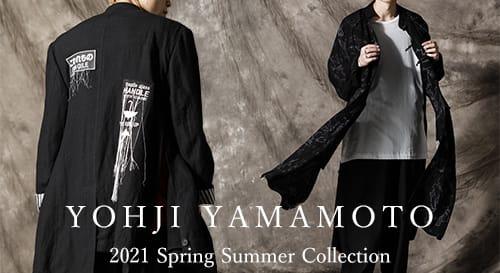 Yohji Yamamoto(ヨウジヤマモト)2021SS(春夏)コレクション