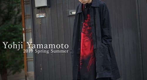 Yohji Yamamoto 2019 Spring Summer Collection