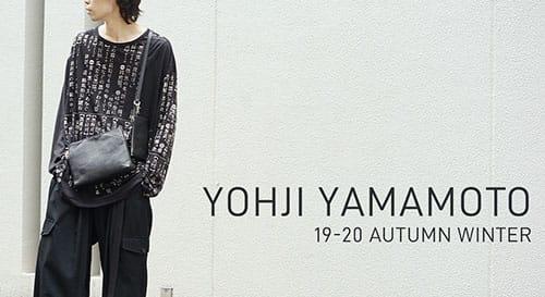 Yohji Yamamoto 2019-20AW Collection
