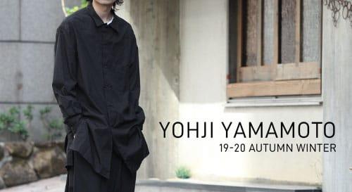Yohji Yamamoto(ヨウジヤマモト) 2019-20AW(秋冬) コレクション
