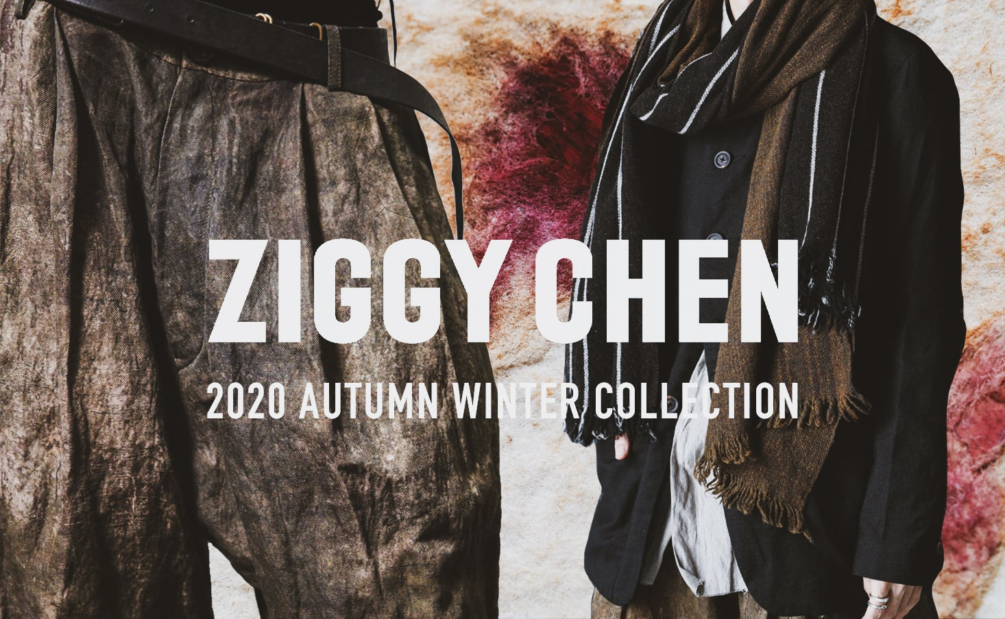ZIGGY CHEN 2020-21AW collection