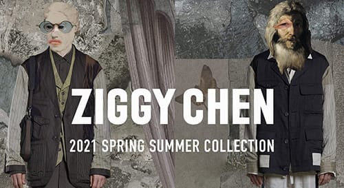 ZIGGY CHEN 2021SS collection
