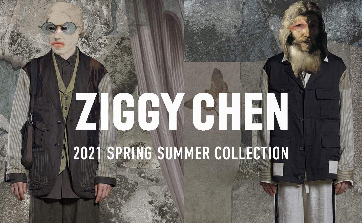 ZIGGY CHEN(ジギーチェン) 2021SS(春夏)コレクション