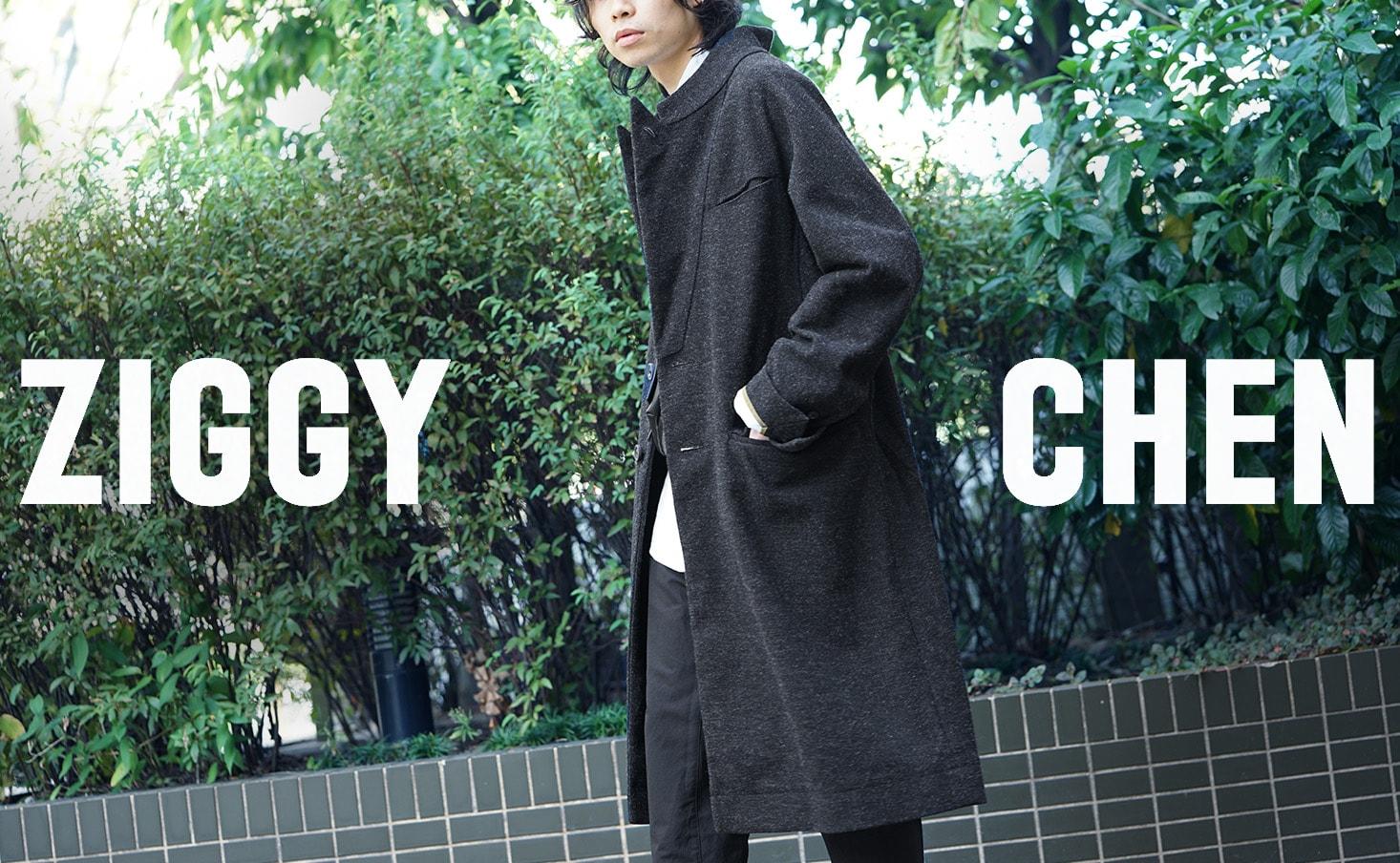 ZIGGY CHEN(ジギーチェン)18-19AW(秋冬) コレクション