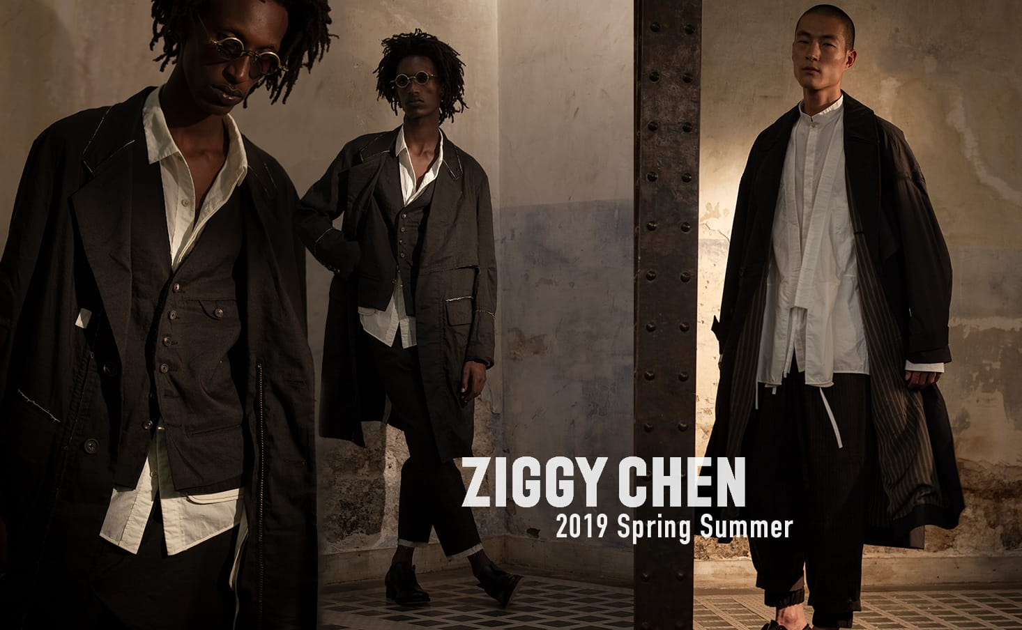 ziggy chen 2019 Spring Summer Collection