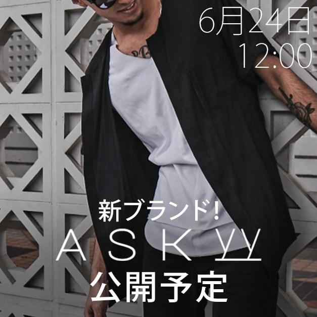 ASKyy(アスキー)2018-19AW(秋冬)コレクション