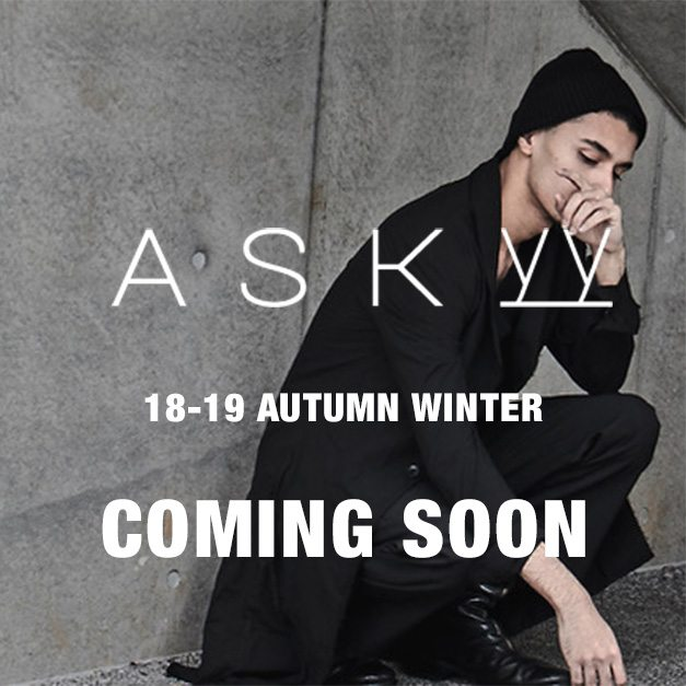 ASKYY 18-19aw collection