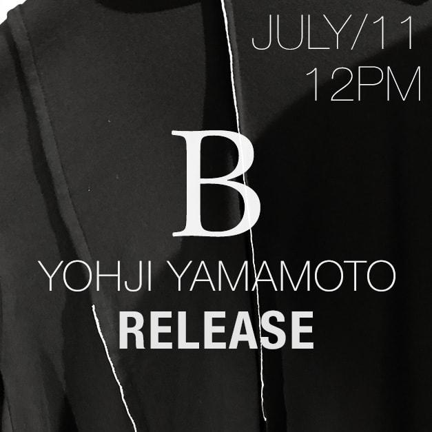 B Yohji Yamamoto2018-19AW COLLECTION