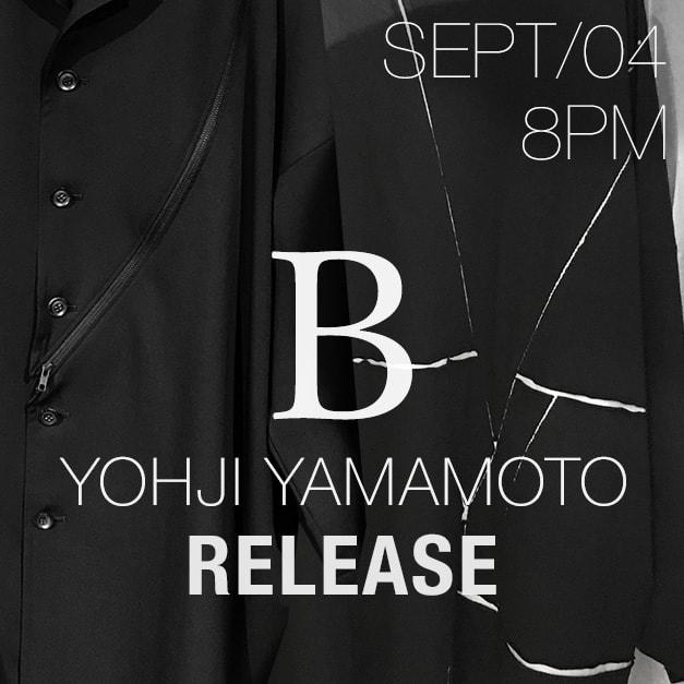 B Yohji Yamamoto 18-19 AW