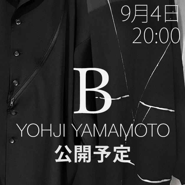 B Yohji Yamamoto(ビーヨウジヤマモト)18-19AW(秋冬) コレクション