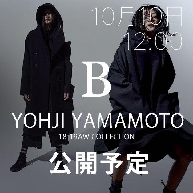 yohji yamamoto 18AW(秋冬) コレクション