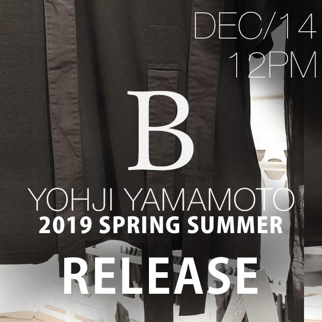 B Yohji Yamamoto 2019SS collection