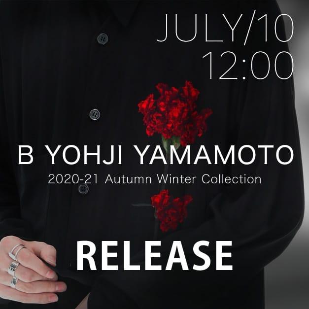 B Yohji Yamamoto 20-21AW collection Release Notice