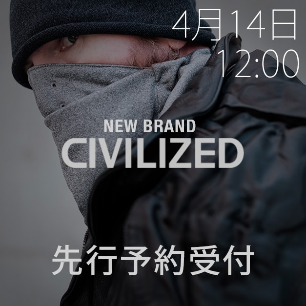 CIVILIZED(シヴィライズド) 18-19AW(秋冬)コレクション