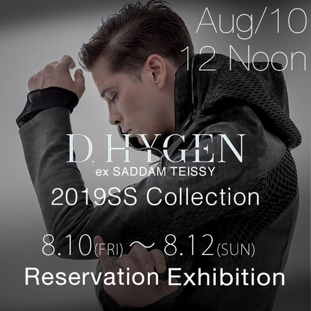 D.HYGEN 2018-19AW Collection