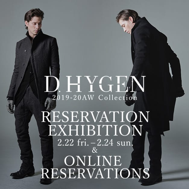 D.hygen 2019-20AW collection