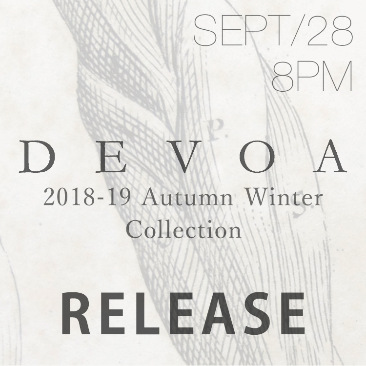 DEVOA 18AW Collection